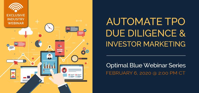 AUTOMATE TPO DUE DILIGENCE & INVESTOR MARKETING WEBINAR