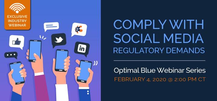 Comply with Social Media Regulatory Demands Webinar